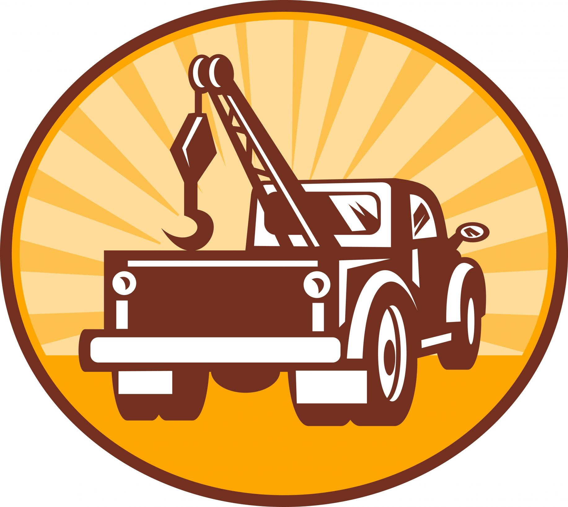 This is a picture of a tulsa wrecker company logo.