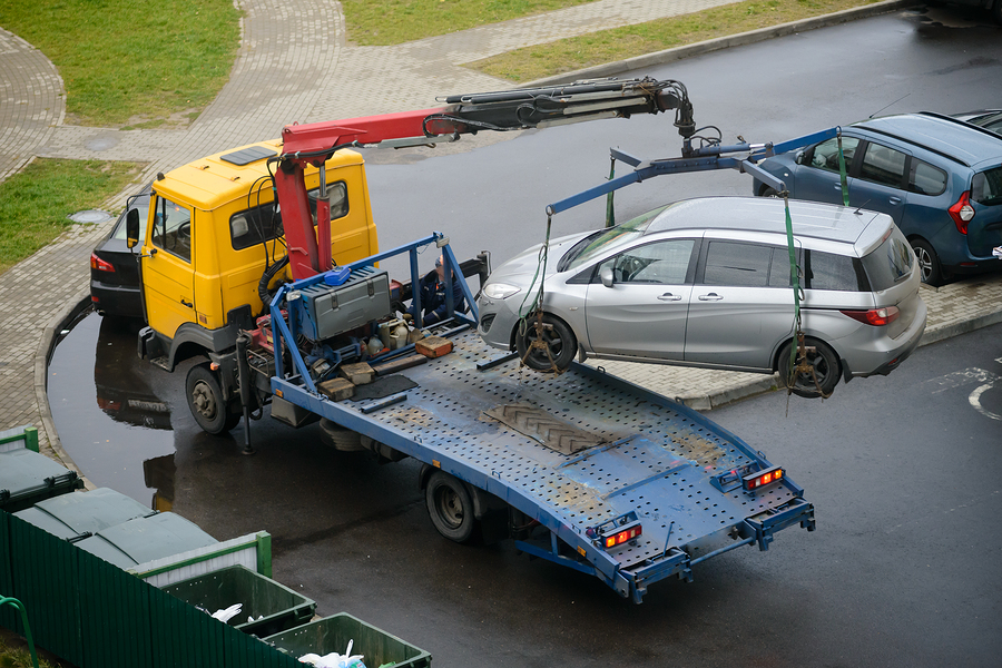 This is a picture of a tow truck services.